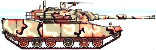 K1A1 Rokit (Hyundai Type 88)