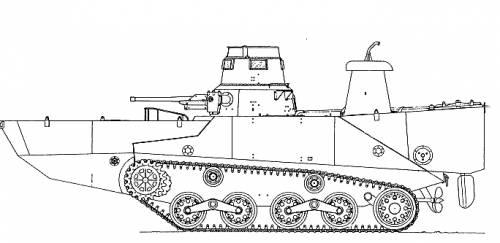 KA-MI Amphibious Tank