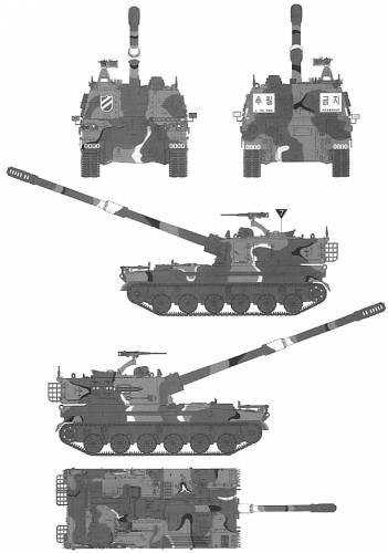 KOR K9 155mm SPH