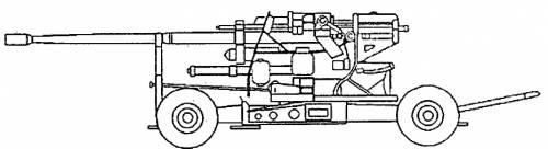 KS-19 100mm AA Gun Type-59