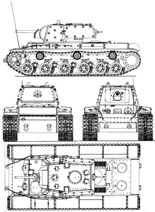 KV-1 Ehkranami
