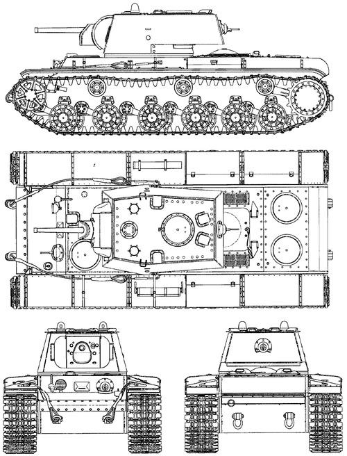 KV-1 F-32 76mm