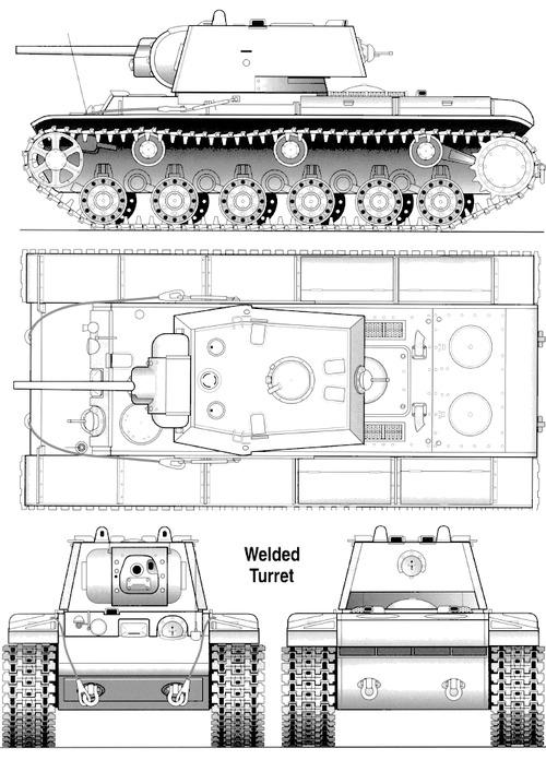 KV-1 M1941 Welded Turret