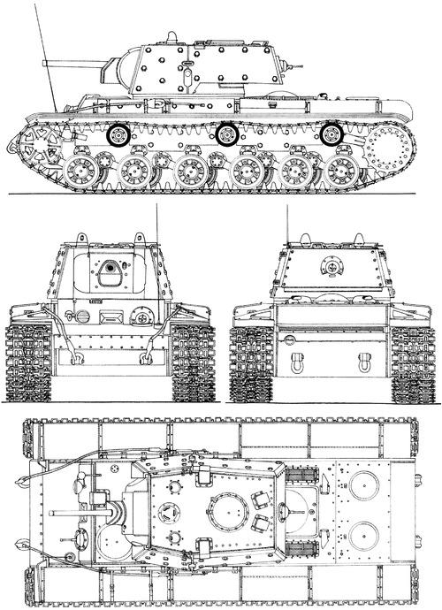 KV-1E Ekranami 1941