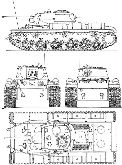 KV-1S Skorostniy 1942