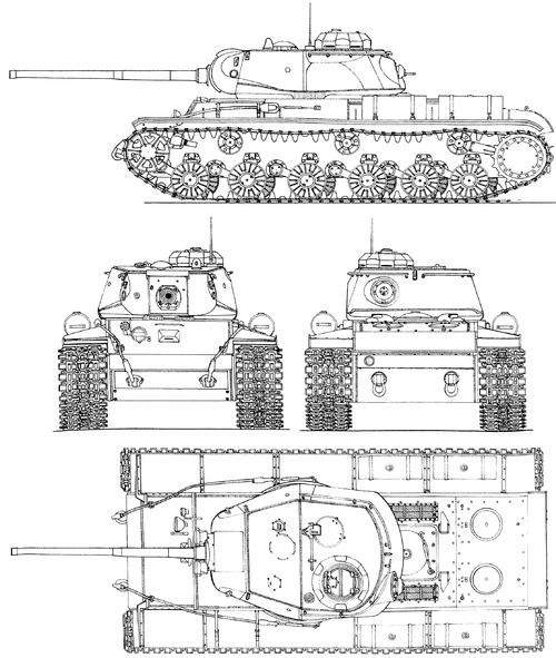 KV-85 1943