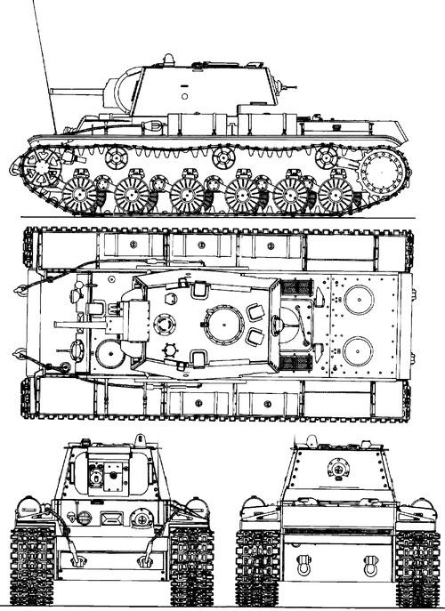 KV-8 M1942 Ognemetniy Tank