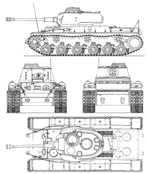 KV-IB 755(r) 7.5cm Kwk 40L-43 Panzerkampfwagen