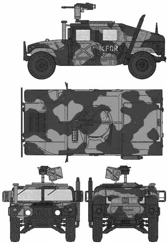 M1025 Hamby Weapon Carrier