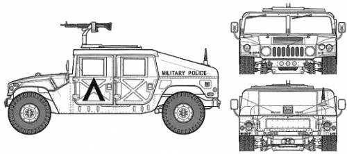 M1025 HUMMVE