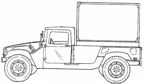 M1037 HMMWV