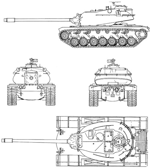 M103 120mm Heavy Tank