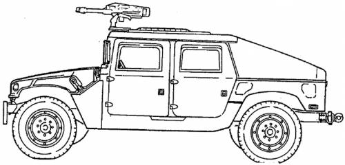 M1043A2 HMMWV