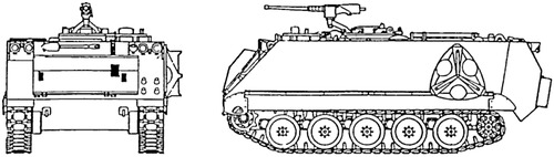 M1064A3 Mortar Carrier