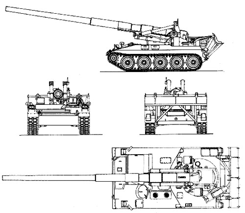 M107 175mm SPG