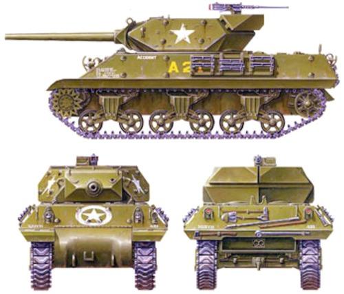 M10 3-inch Gun Motor Carriage Wolverine