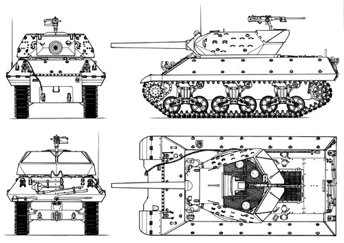 M10 3-inch Gun Motor Carriage Wolverine