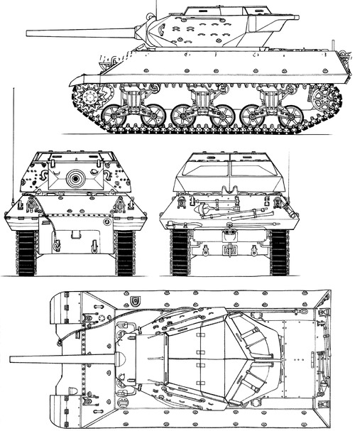 M10 3-inch Gun Motor Carriage Wolverine (Modifie)