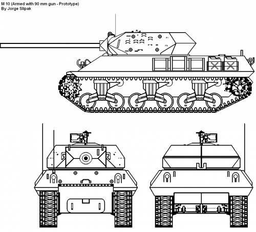 M10 90 mm (Prototype)