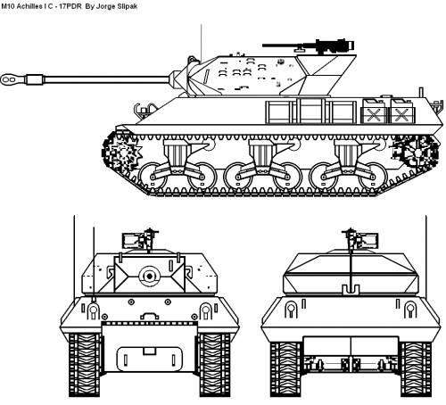 M10 Achilles I C 17 PDR