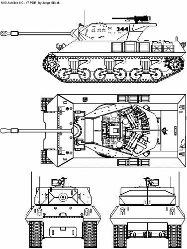 M10 Achilles II C 17 PDR