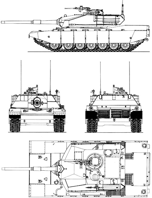 M1 Abrams Chrysler Prototype