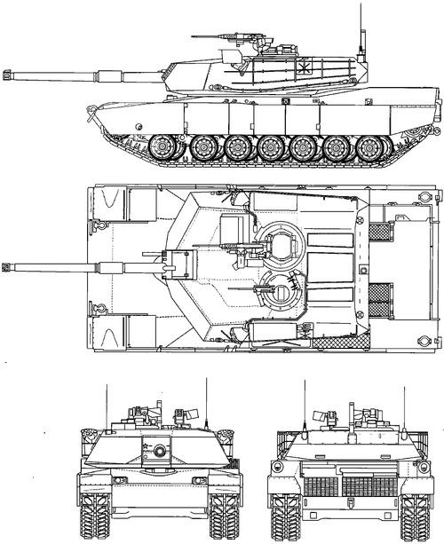M1 Abrams FSED Prototype