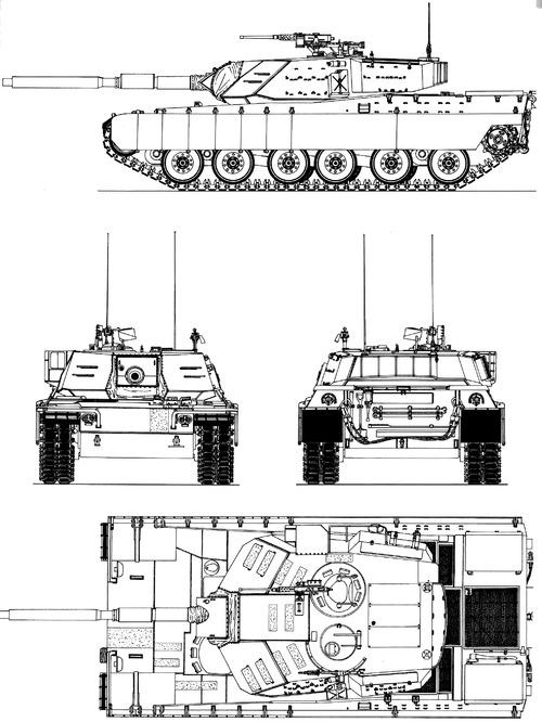 M1 Abrams GM Prototype