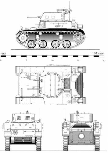 M1 Combat Car (1937)
