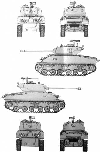 M1 Super Sherman IDF