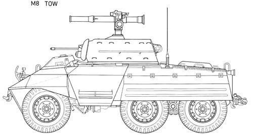 M8 Greyhound Tow