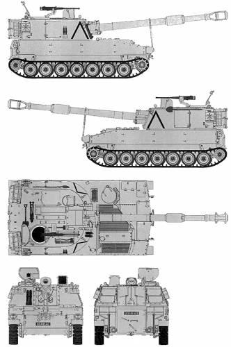 M-109A2 155mm SPG