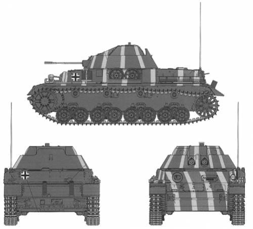 3cm MK103 Flakpanzer IV 'Kugelblitz'