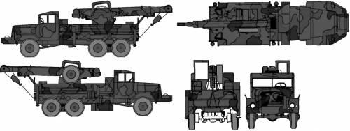 Magirus-Deutz 5t Crane
