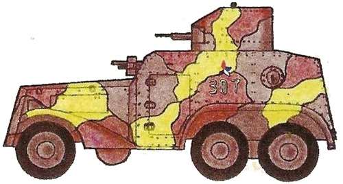 Manchukuo Type 93 Armored Car