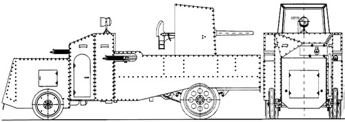 Mannesmann-Mulago Armoured Car (1915)