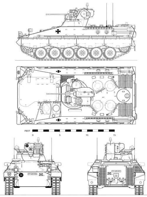 Marder 1A2 ICV (1962)