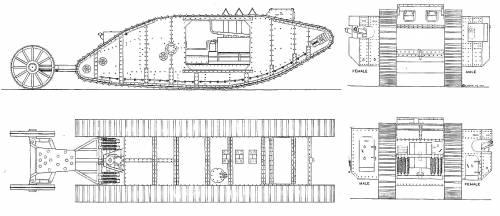 Mark I Tank WW.I