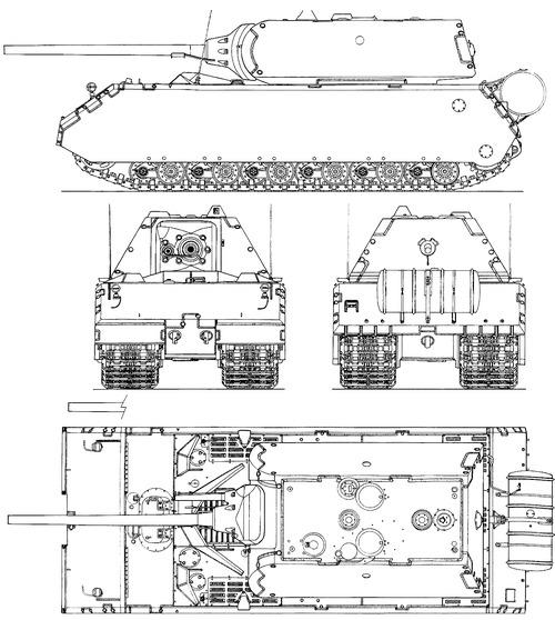 Maus Pz.Kpfw.VIII (Porsche Typ 105)