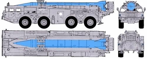 MAZ-543 - SS-1C Scud B