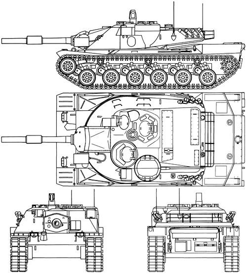 MBT-70 152mm