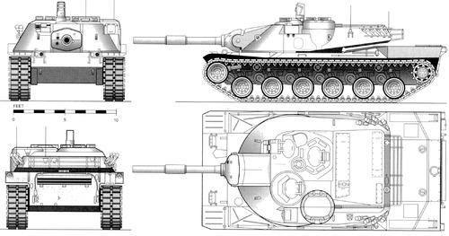 MBT-70 (1968)