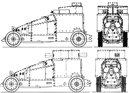 Mgebrov-Renault Armoured Car (1914)