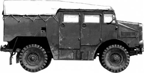 Morris C8 Artillery Tractor 4X4