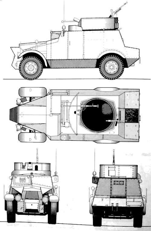 Morris CS9 Light Reconnaissance Car