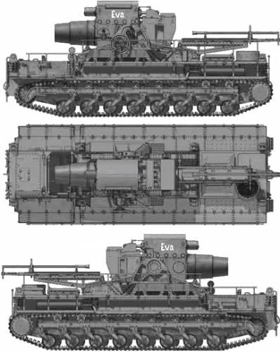 Morser KARL- Geraet 040