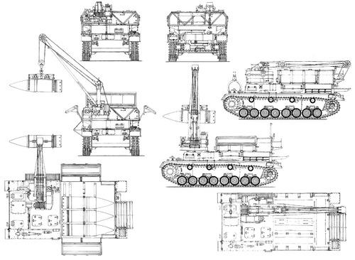 Morser Karl Gerat 040 Pz.Kpfw.UV Ammo Carrier