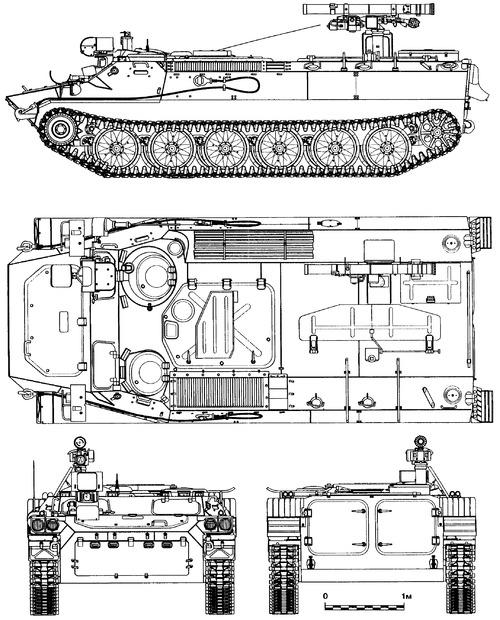 MT-LB 9P149 Shturm-S