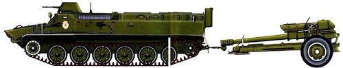 MT-LB + D30 122mm