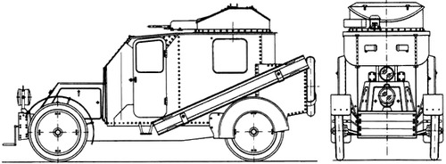 Nakashidze-Charron Armoured Car (1905)